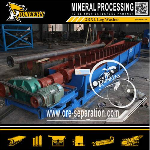 Double log washer for larger capacity,Screw Washer Machine