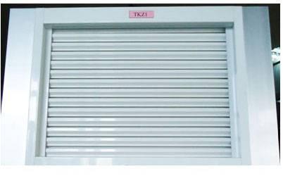 Aluminium louver window TK Z1