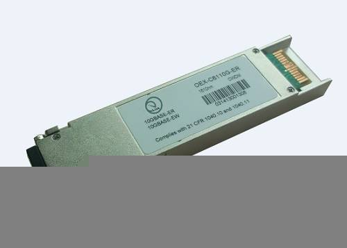 OEX-Cxx10G-80 Optical Transceivers 10G XFP 1470nm~1610nm 80KM CWDM APD