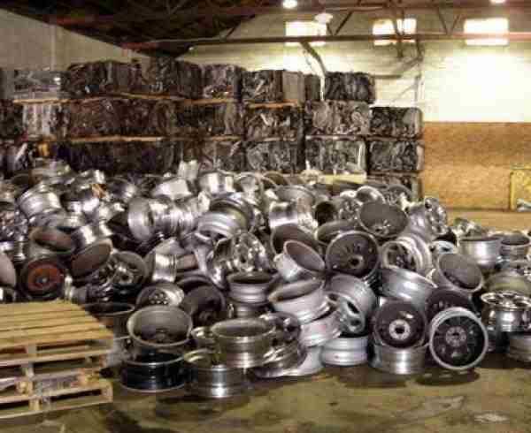 Aluminium Wheel Alloy scrap