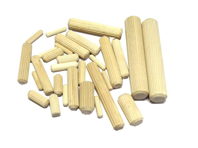 Multi-Grooved Dowel Pin/Fluted Dowel Pin