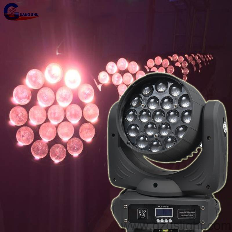 Osram RGBW4in1 19pcs12W LED Moving Head Light