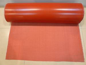 Premium quality silicone rubber cloth coated fiberglass fabric