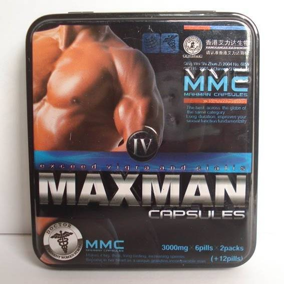 Maxman capsule for male enhancement