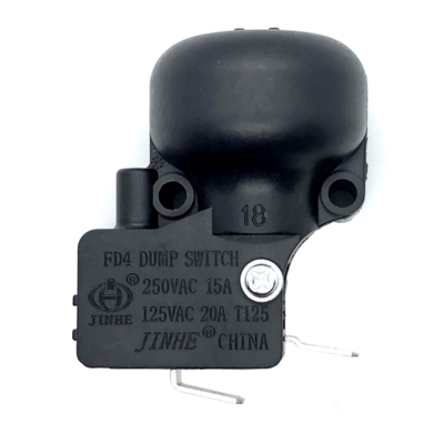 250V 16A dump switch tip over switch for heater