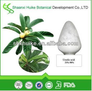100% Natural Anti-wrinkle Ursolic Acid 98%