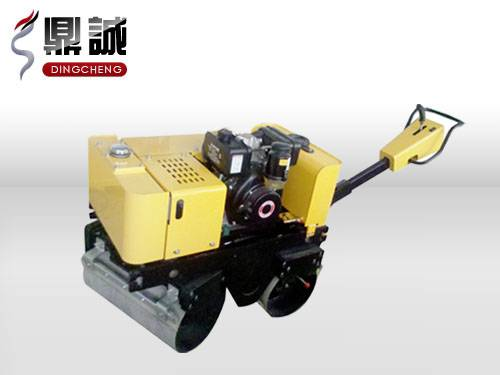 DC-840-I Full hydraulic walking double drum road roller
