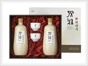 Korean Alcoholic Beverage 'Kang Jang Bek Se Ju Gift Set'