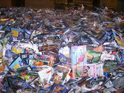 waste PC DVD