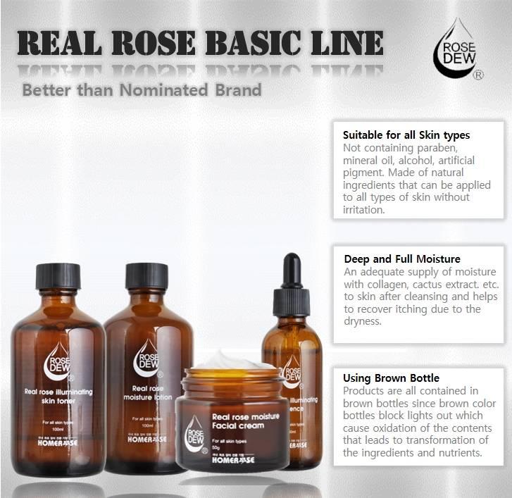 HOMEROSE Real Rose Basic Line