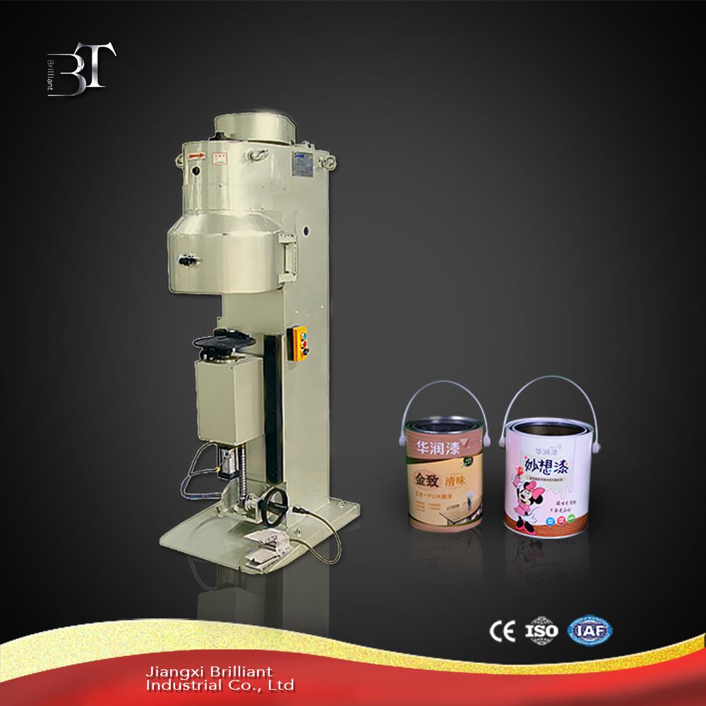 Semi-automatic tin can sealing machine
