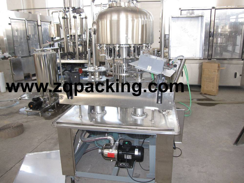 CYG Series Normal Pressure Filling Machinery for pure water ,minearl water