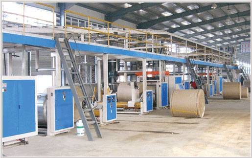 sell corrugate carboard production line