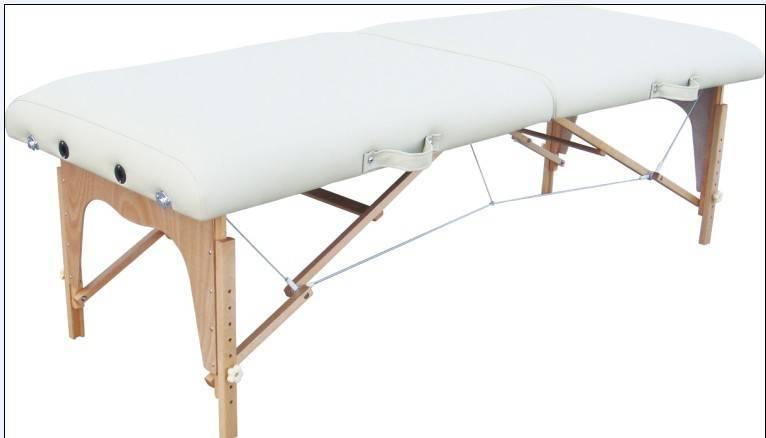 Wooden massage table QMT-001