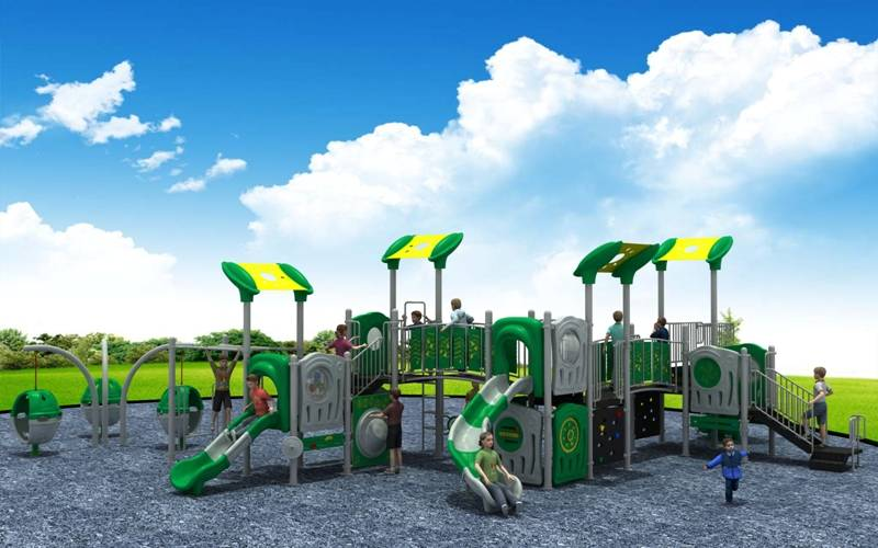 Hottest Modern Series Outdoor Playground Equipment Comprehensive Slide WD-XD112