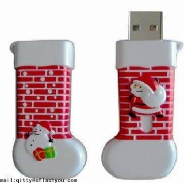 selling christmas gift usb flash