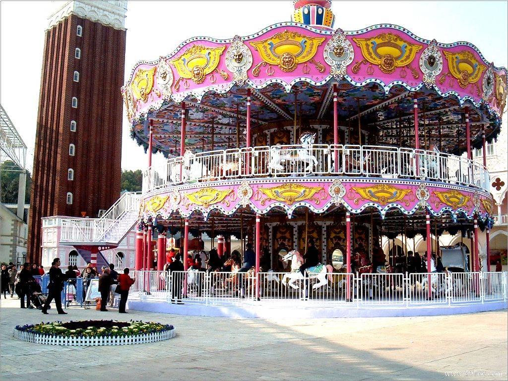 electric amusement park rides luxury carousel horse amusement rides
