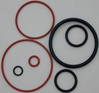 Custom cheap durable black silicone rubber seal O ring