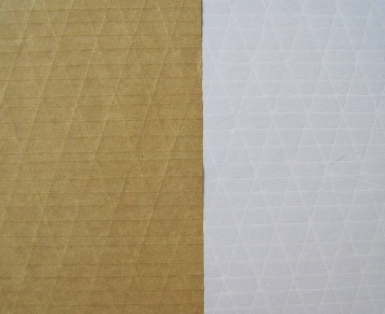 manufacturer of Composite glass wool fireproof facing--white PP film layer and alu.foil