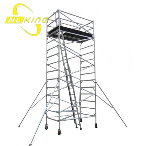 Aluminium collapsible work platform(SF-519)