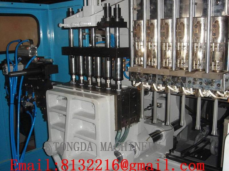 BLOW MOLDING MACHINE\BLOW MOULDING MACHINE(TDLII-3L/6)