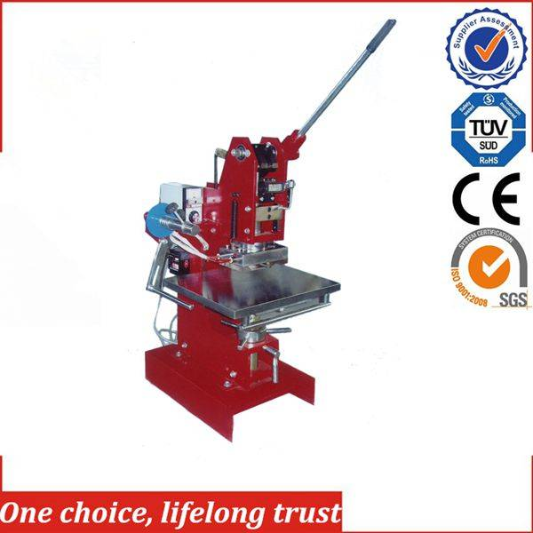 TJ-1E manual hot foil stamping embossing machine