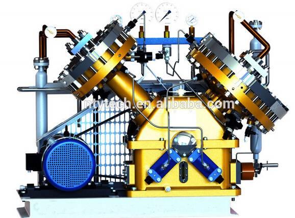 35MPa Working High Pressure Neopentane/Tetramethylmethane Diaphragm Compressor