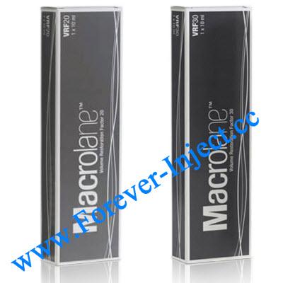 Macrolane VRF20 , Macrolane Volume Restoration Factor , dermal fillers