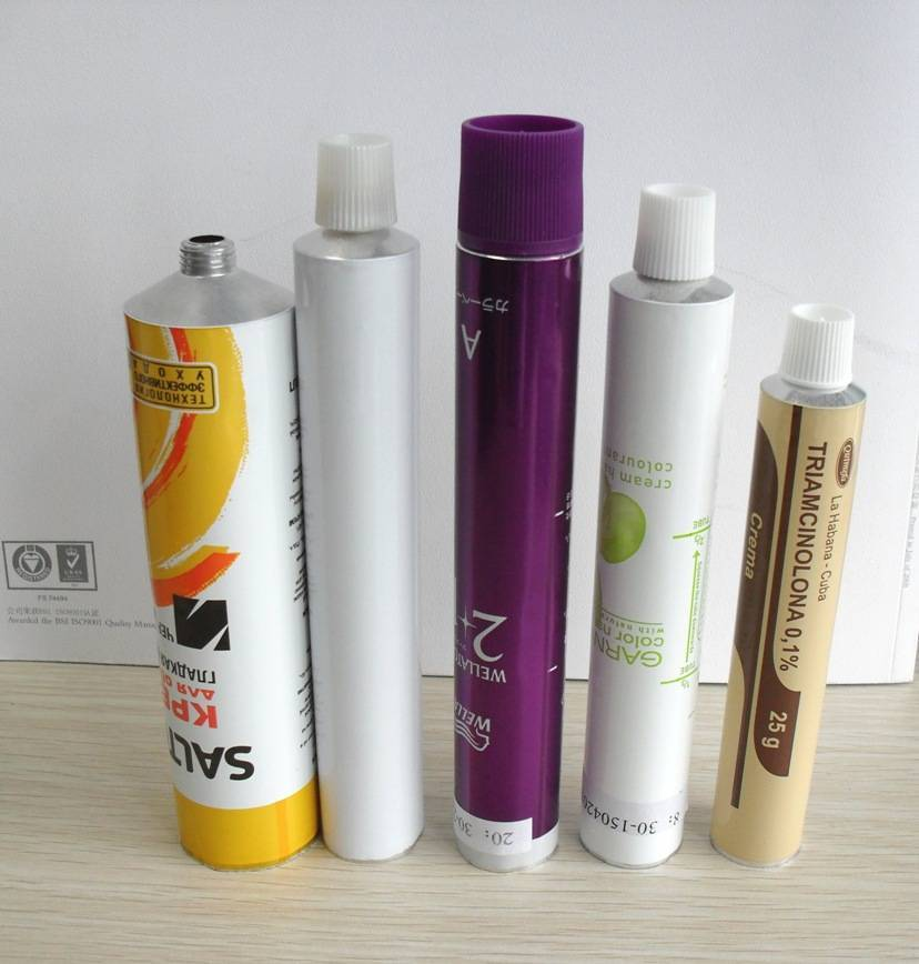 Manufacture of aluminum tube for package