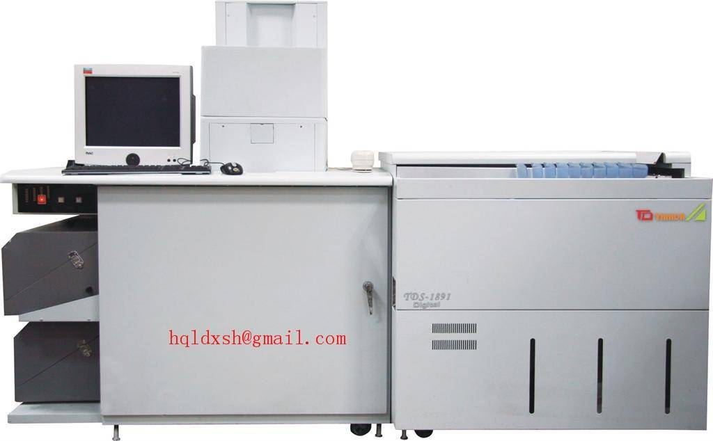 Minilab digital color lab machine TDS-1892 20 by 30 inch ( 508 by 762 mm)