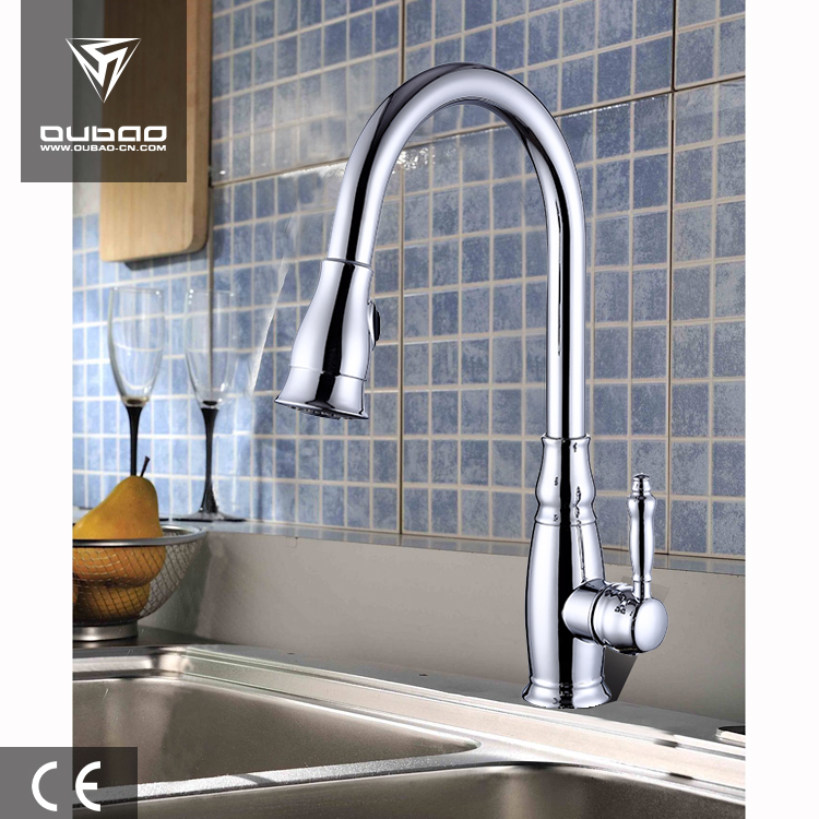Long Neck Pull Out Kitchen Faucet Kitchen Mixer