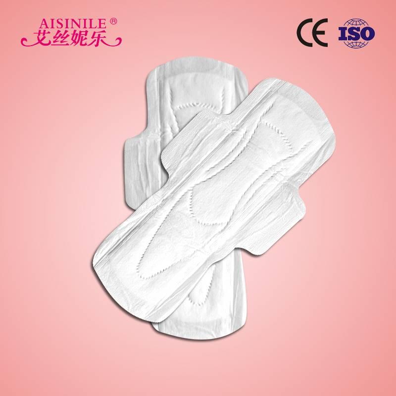 OEM High Absorbent Cotton Lady Sanitary Napkin
