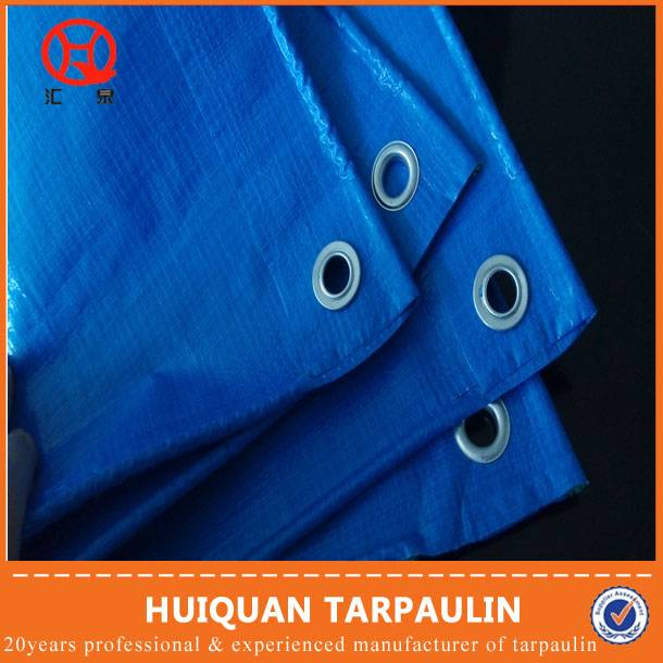 polyethylene coated tarpaulin with eyelet