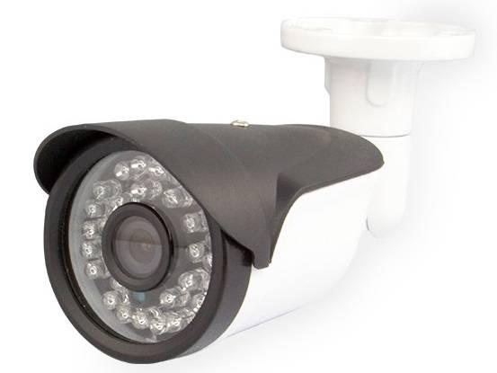 New Appearance IP Bullet Camera Onvif Poe P2p 1MP H. 265 CCTV Bullet Camer
