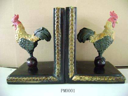 Polyresin bookend