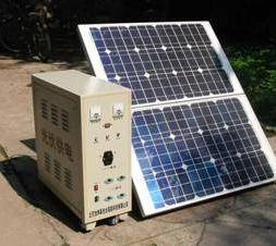 solar home system portable/removeable CBSC-80Wp