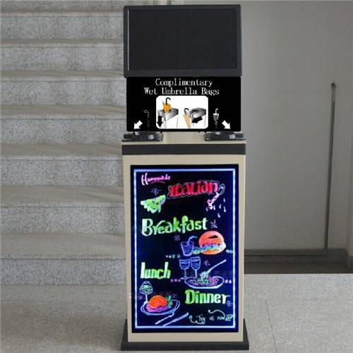 Automatic LED Writing board wet umbrlla wrapper office wholesale equipment