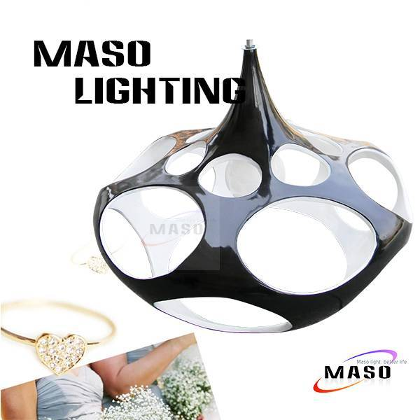 Fashion 60w Resin pendant lamp for dining room bar indoor lighting factory without source MS-P1047