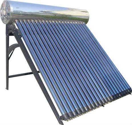 solar water heater new design