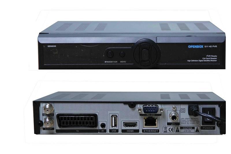 HD DVB-S2 Terrestrial TV Receiver Openbox S11 HDPVR