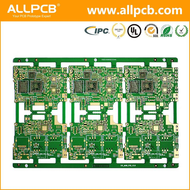 customized high quality pcb circuit board prototyping for mobile phone