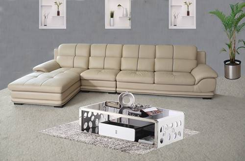 selling hotel reather sofa set H143