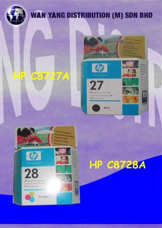 Selling HP Inkjet Cartridge C8727A, C8728A