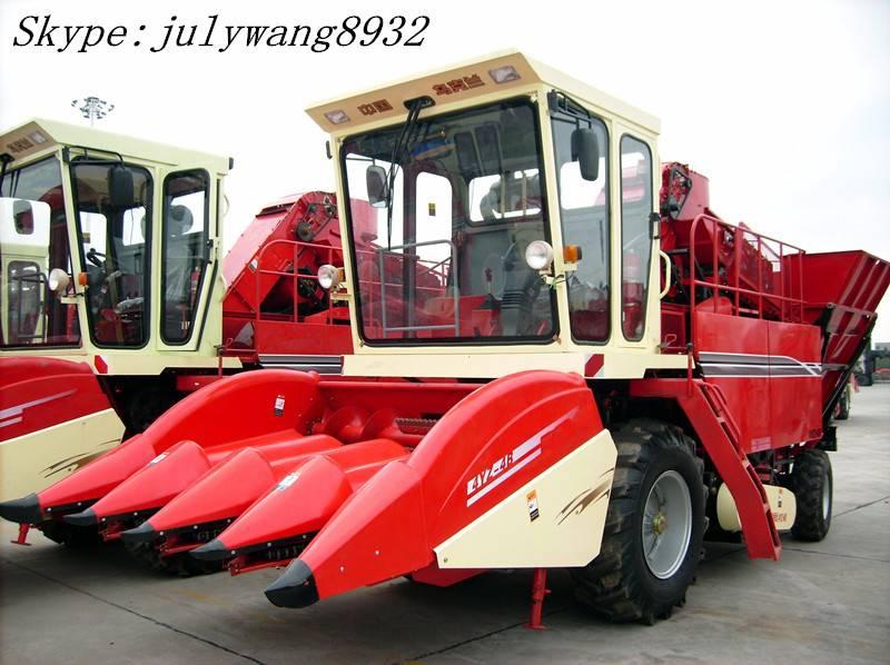 4 Rows With Peeler Corn Combine Harvester 4YZ-4B