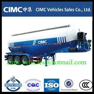 Sell CIMC 3 axle cement tank trailer