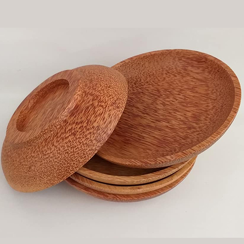 Coconut wooden plates