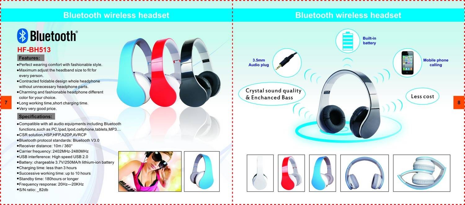 Bluetooth Headphone HF-BH513