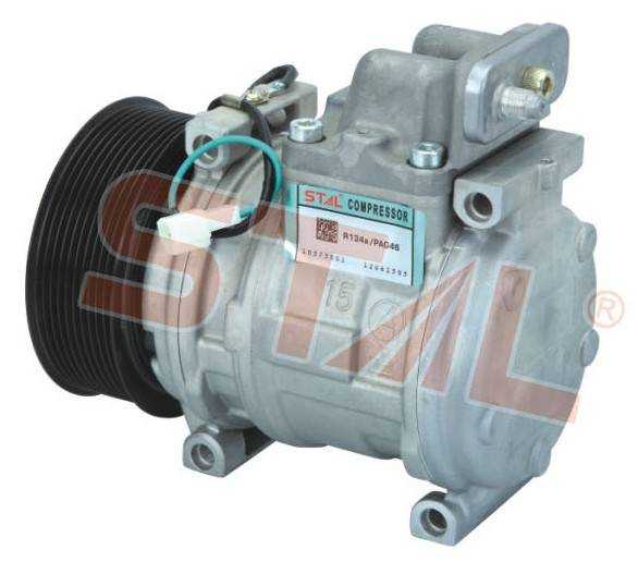 Sell A/C compressor with R134a