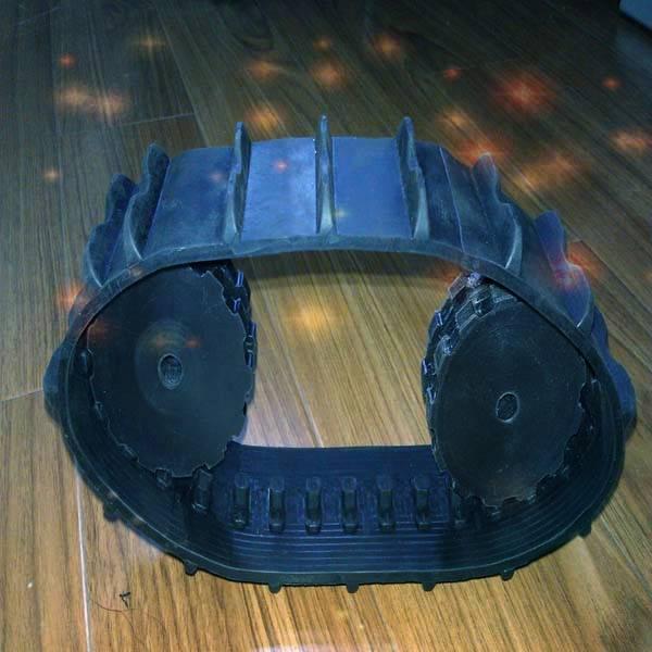 Nice Flyingtracks robot rubber track/ rubber tread