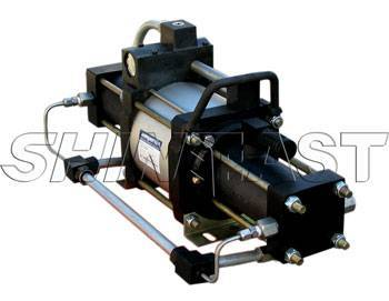STT Series air driven gas booster